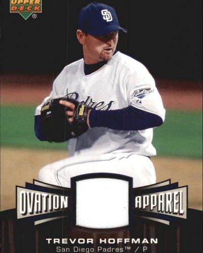 Photo of 2006 Upper Deck Ovation Apparel #TH Trevor Hoffman Jsy