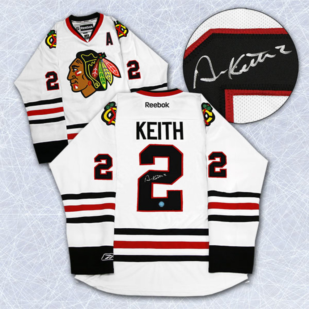 Duncan Keith Chicago Blackhawks Autographed Reebok Premier Jersey