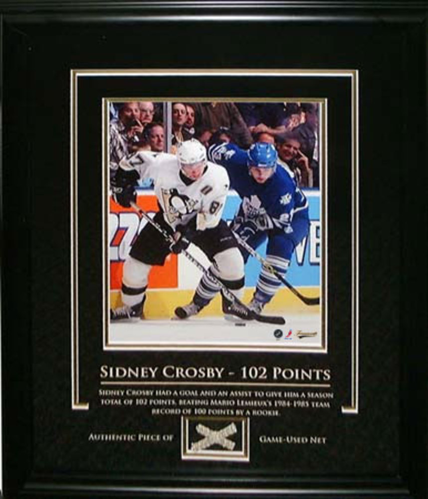 Sidney Crosby Unsigned 8