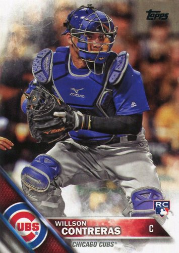 Photo of 2016 Topps Update #US266 Willson Contreras -- Chicago Cubs rookie card