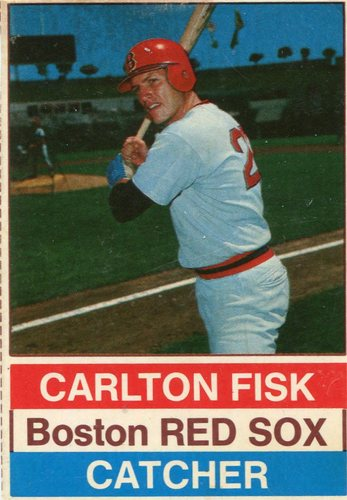 Photo of 1976 Hostess #64 Carlton Fisk SP