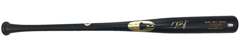Photo of Kris Bryant Autographed Bat