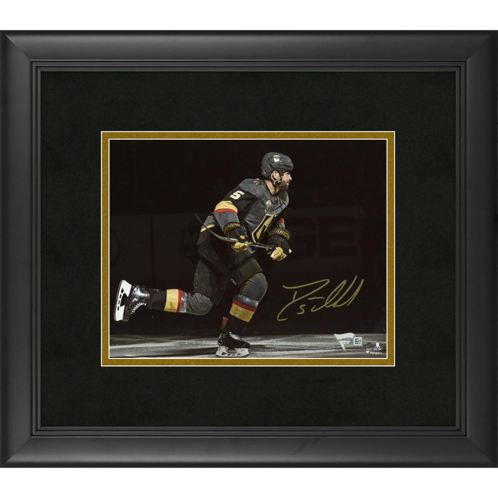 Deryk Engelland Vegas Golden Knights Framed Autographed 8