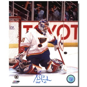 Grant Fuhr Autographed St. Louis Blues 8x10 Photo