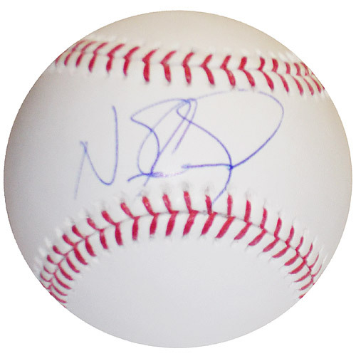 Photo of Detroit Tigers Nick Castellanos Autographed Baseball