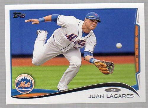Photo of 2014 Topps #304 Juan Lagares