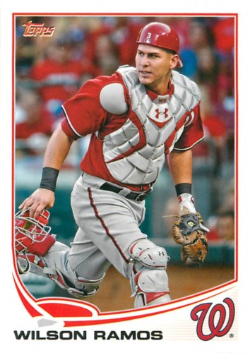 Photo of 2013 Topps #203 Wilson Ramos