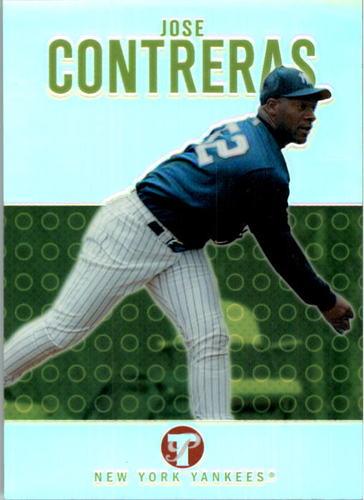 Photo of 2003 Topps Pristine Refractors #101 Jose Contreras C
