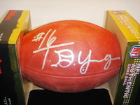 NFL - TITUS YOUNG SIGNED AUTHENTIC FOOTBALL