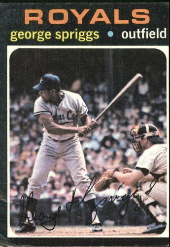 Photo of 1971 Topps #411 George Spriggs