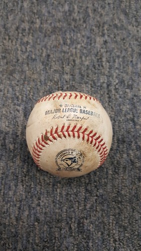 Photo of Authenticated Game Used Baseball - David Ortiz, Double (Sept 9, 2016)