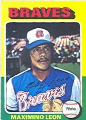 Photo of 1975 Topps #442 Maximino Leon RC