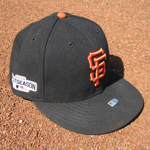 Photo of San Francisco Giants - Game-Used Postseason Cap - WC & NLDS - Jeff Samardzija #29 (7 3/8)