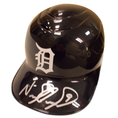 Detroit Tigers Nick Castellanos Autographed Helmet