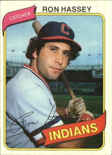 Photo of 1980 Topps #222 Ron Hassey RC