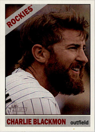 Photo of 2015 Topps Heritage #335 Charlie Blackmon