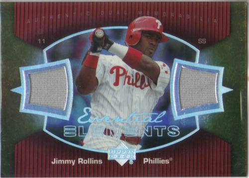 Photo of 2007 Upper Deck Elements Essential Elements #JR Jimmy Rollins
