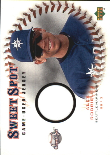 Photo of 2001 Sweet Spot Game Jersey #JAR Alex Rodriguez