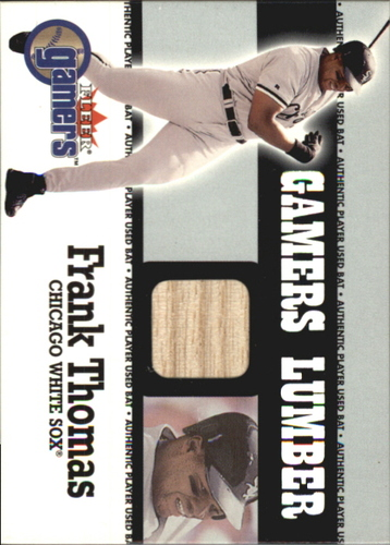 Photo of 2000 Fleer Gamers Lumber #43 Frank Thomas