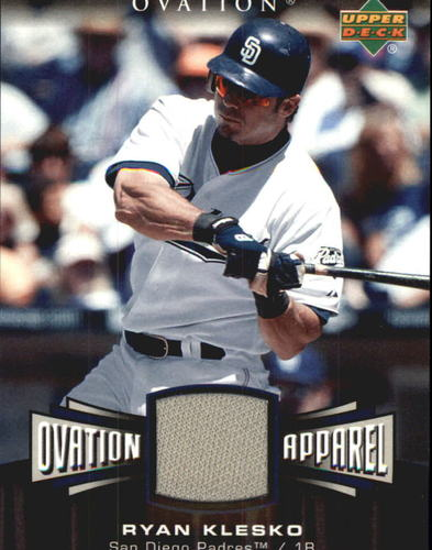 Photo of 2006 Upper Deck Ovation Apparel #RK Ryan Klesko Jersey