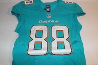 STS - DOLPHINS LEONTE CARROO GAME WORN DOLPHINS JERSEY (NOVEMBER 6 2016)