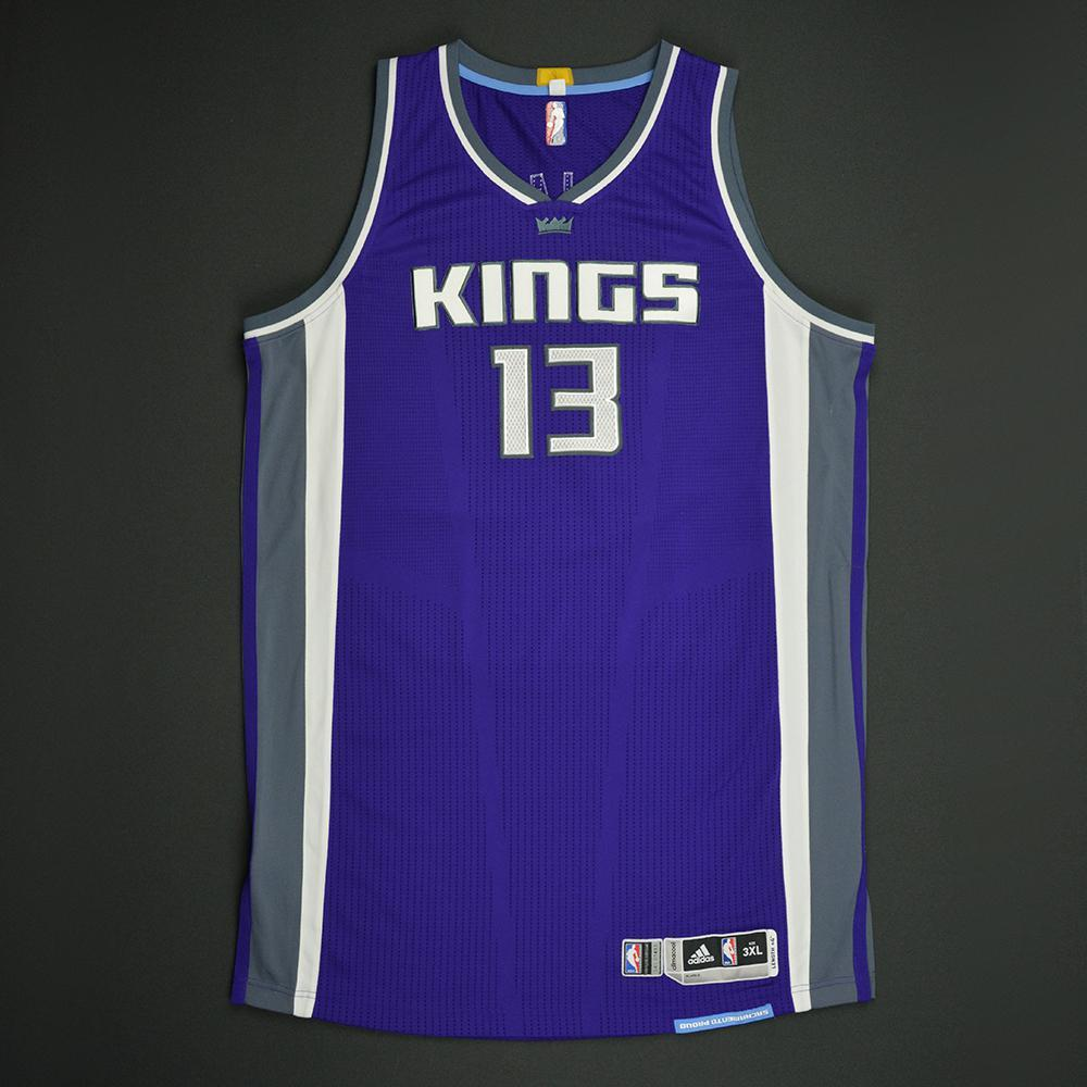 Georgios Papagiannis - Sacramento Kings - Game-Issued Rookie Season Jersey - 2016-17 Season