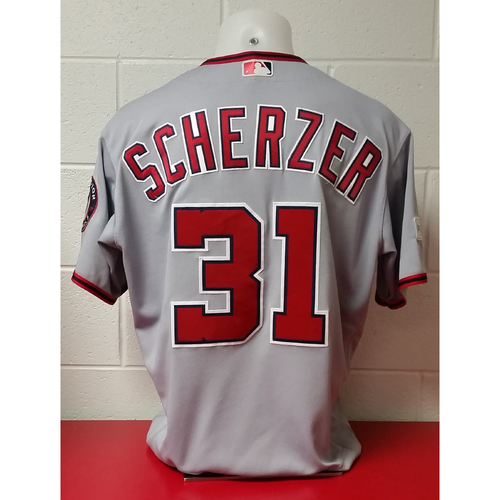 Photo of NLDS Game-Used Jersey: Max Scherzer