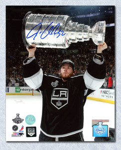 Jonathan Quick Los Angeles Kings Autographed 2012 Stanley Cup 16x20 Photo