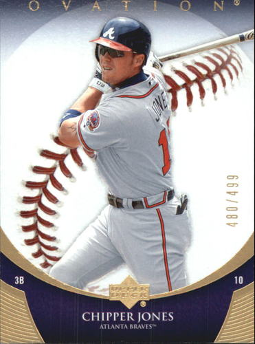 Photo of 2006 Upper Deck Ovation Gold #14 Chipper Jones