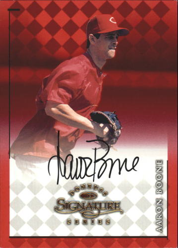 Photo of 1998 Donruss Signature Autographs #9 Aaron Boone/3400*