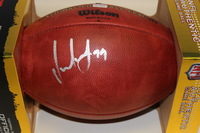 NFL - TITANS JURRELL CASEY SIGNED AUTHENTIC FOOTBALL