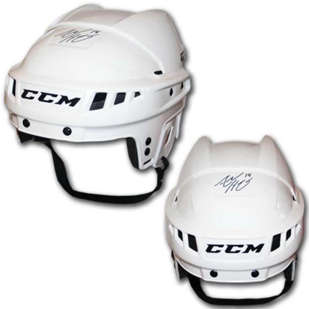 Adam Henrique (New Jersey Devils) Autographed CCM Hockey Helmet