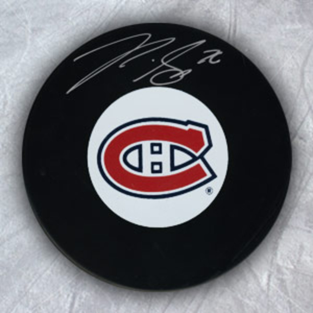 P.K. SUBBAN Montreal Canadiens Autographed Hockey Puck