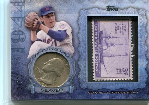 Photo of 2015 Topps Birth Year Coin and Stamps Quarter  Tom Seaver
