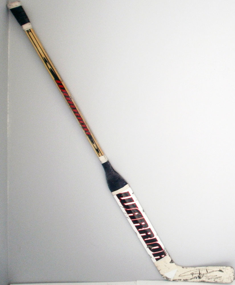 #72 Sergei Bobrovsky Game Used Stick - Autographed - Columbus Blue Jackets