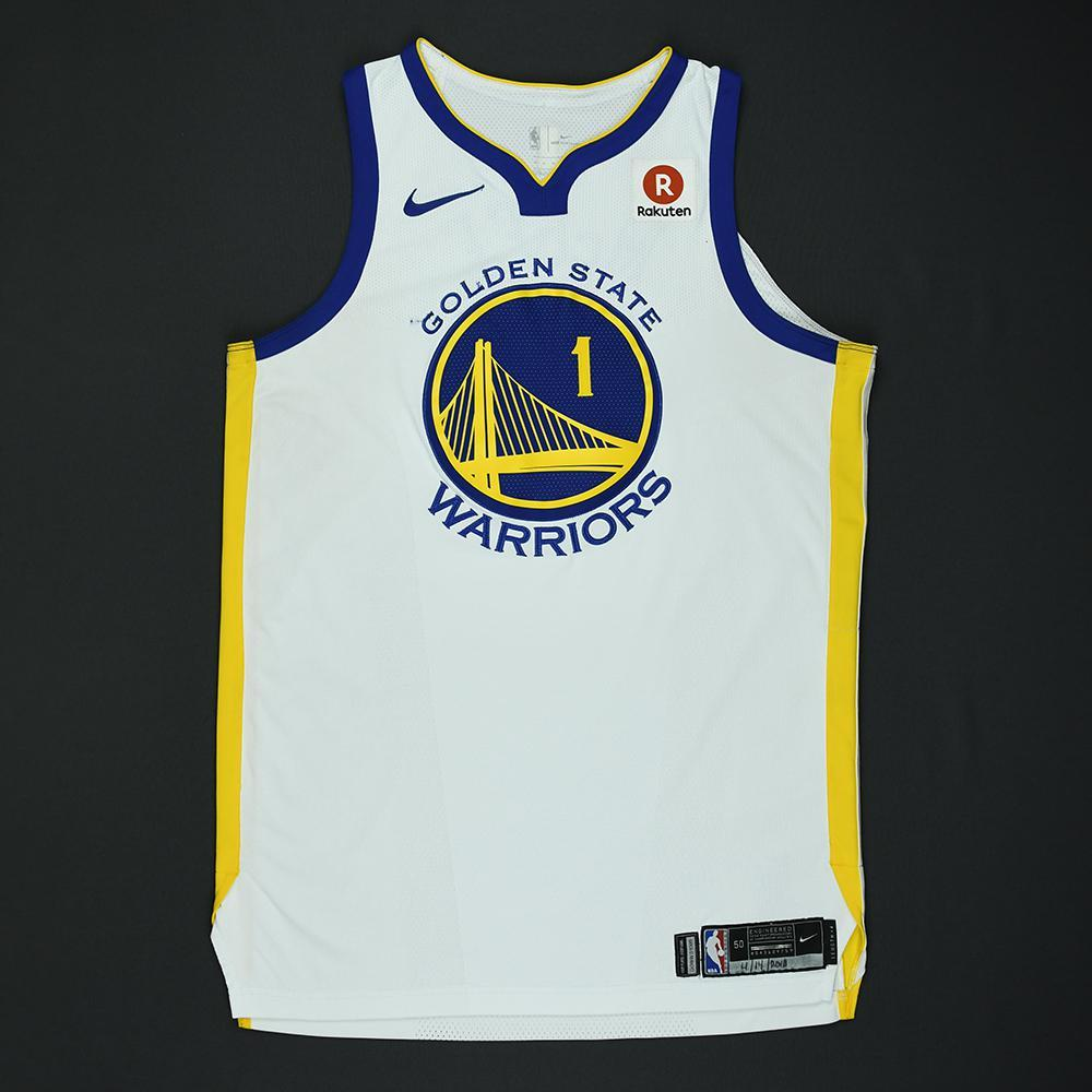 JaVale McGee - Golden State Warriors - 2018 NBA Playoffs Game-Worn Jersey