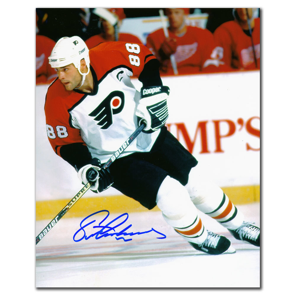 Eric Lindros Philadelphia Flyers BREAKOUT Autographed 8x10