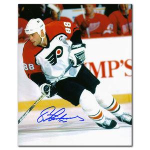 Eric Lindros Philadelphia Flyers BREAKOUT Autographed 8x10