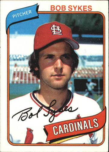 Photo of 1980 Topps #223 Bob Sykes