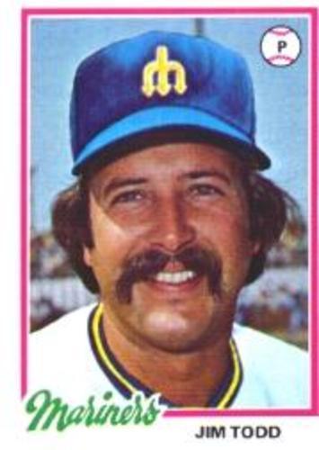 Photo of 1978 Topps #333 Jim Todd