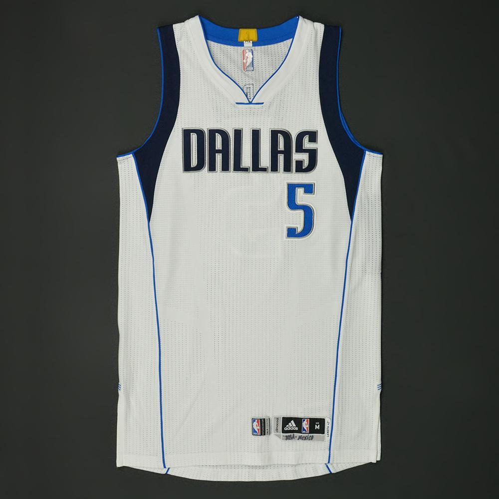 JJ Barea - Dallas Mavericks - NBA Global Games 2017 Mexico City - Game-Worn Jersey