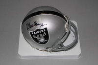 HOF - RAIDERS WILLIE BROWN SIGNED RAIDERS MINI HELMET