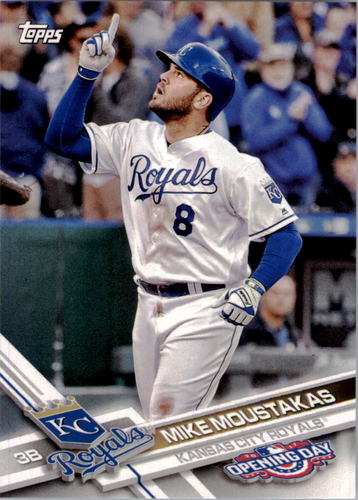Photo of 2017 Topps Opening Day #163 Mike Moustakas