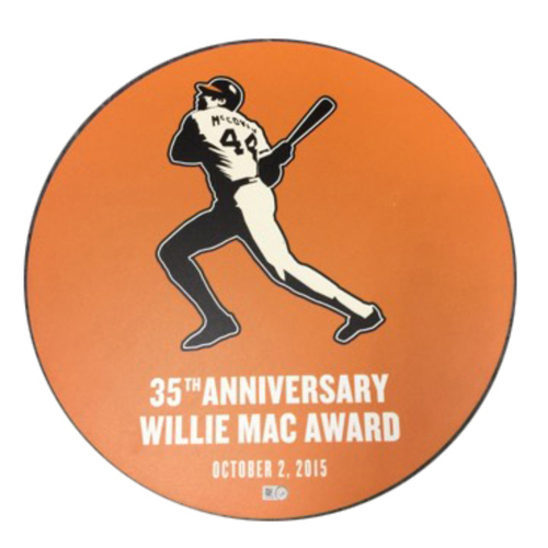 Photo of San Francisco Giants - Willie Mac Award Ceremony Disc 2015