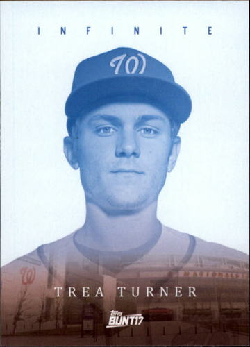 Photo of 2017 Topps Bunt Infinite #ITT Trea Turner