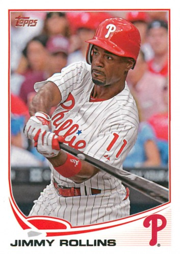 Photo of 2013 Topps #206 Jimmy Rollins