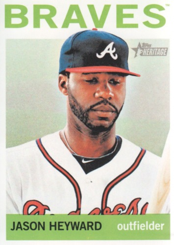 Photo of 2013 Topps Heritage #300 Jason Heyward