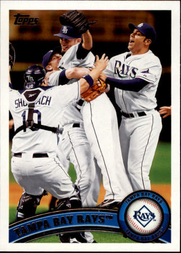 Photo of 2011 Topps #52 Tampa Bay Rays TC