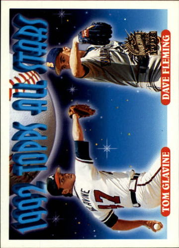 Photo of 1993 Topps Inaugural Marlins #410 T.Glavine/D.Fleming AS