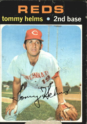 Photo of 1971 Topps #272 Tommy Helms